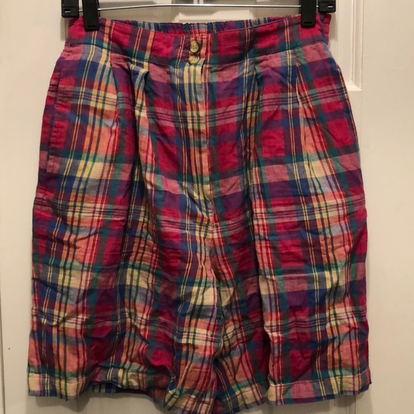Cambridge Dry Goods & Co. Plaid Shorts